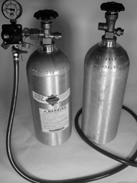 Make a Cheap Kegerator - CO2 Tanks